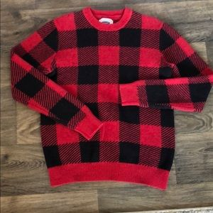 Plaid sweater!